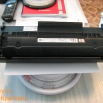 Взвешиваем картридж лазерного принтера